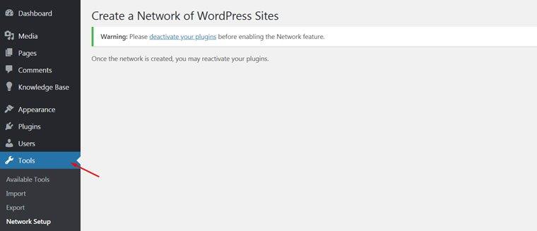 Blog B2B Host   Instale o Multisite por meio do seu painel.