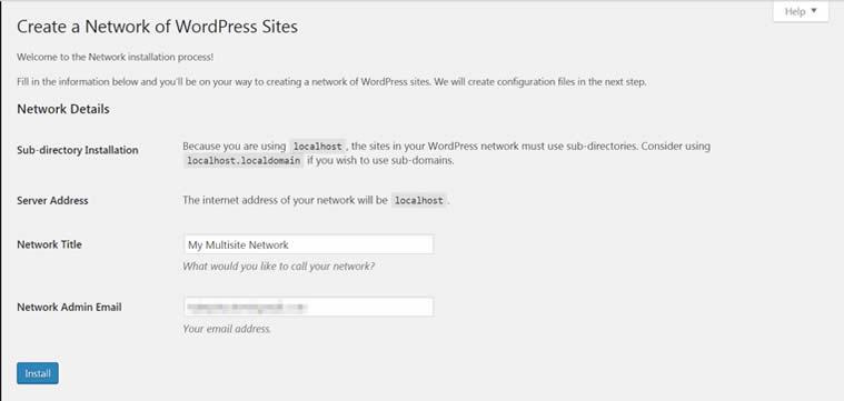 Blog B2B Host   WordPress Multisite