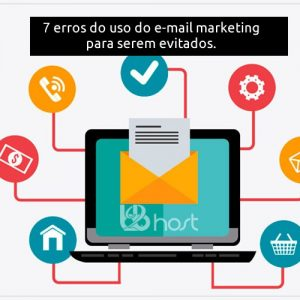 Blog B2B Host | Marketing Digital - 7 erros do uso do e-mail marketing para serem evitados a todo custo.