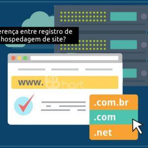 Blog B2B Host | Registro e Hospedagem de Domínios - Qual é a diferença entre registro de domínio e hospedagem de site?