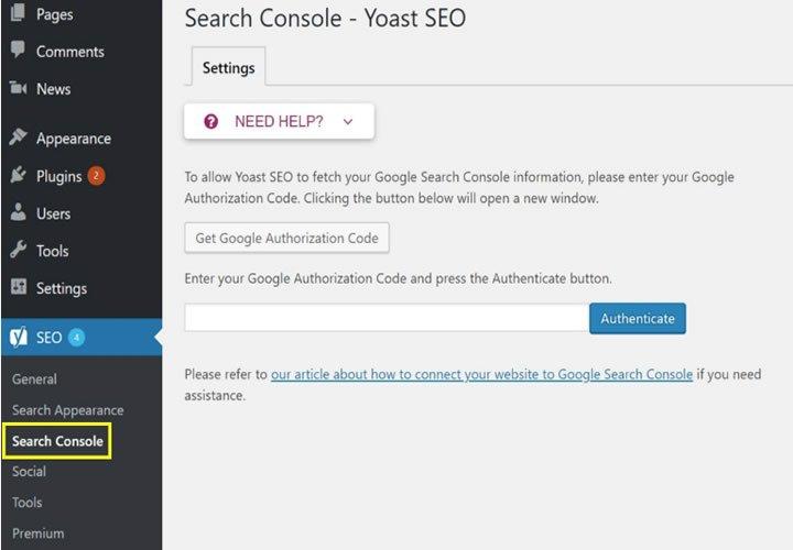 Blog B2B Host | Marketing Digital - SEO > Console de pesquisa.