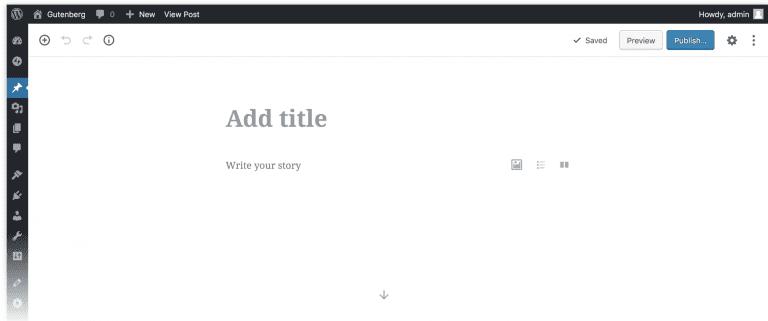 Blog B2B Host | Hospedagem de Site WordPress - Novo WordPress 5.0 com novo editor Gutenberg
