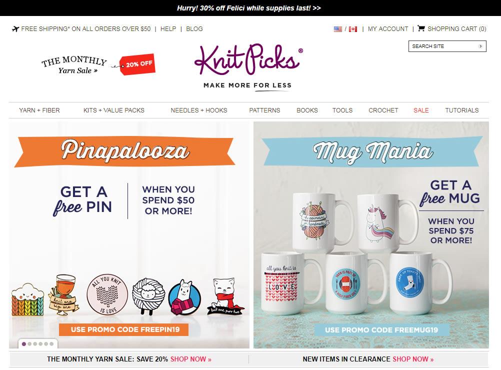 Blog B2B Host | Crie categorias de produtos que façam sentido para seus clientes - Knit Picks.