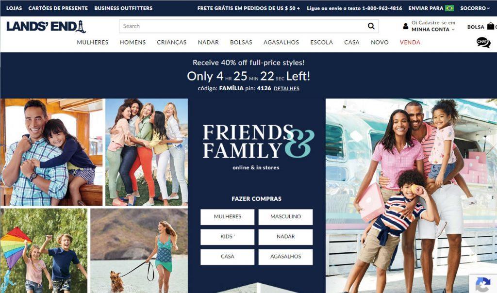 Blog B2B Host | Crie categorias de produtos que façam sentido para seus clientes - Lands' End.