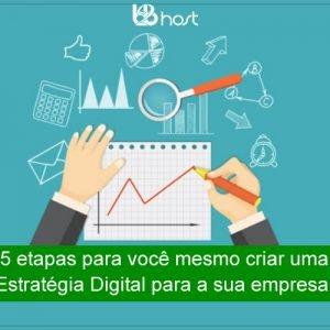 Blog B2B Host | Primeiros Passos – 5 etapas para você criar uma estratégia digital para a sua empresa.