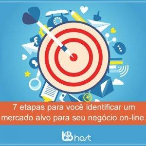Blog B2B Host | Primeiros Passos – 7 etapas para você identificar um mercado alvo para seu negócio on-line.